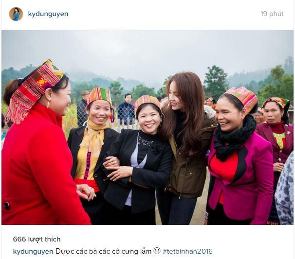 Facebook sao Việt: Ngọc Trinh đỏ rực đón xuân, Nhã Phương sắc sảo, quyến rũ 7