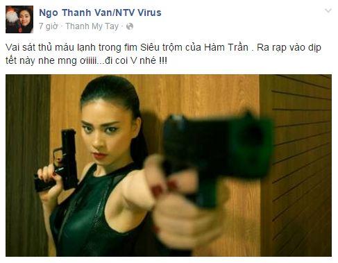 Facebook sao Việt: Ngọc Trinh đỏ rực đón xuân, Nhã Phương sắc sảo, quyến rũ 9