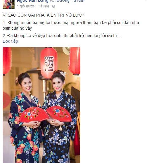 Facebook sao Việt: Ngọc Trinh đỏ rực đón xuân, Nhã Phương sắc sảo, quyến rũ 8