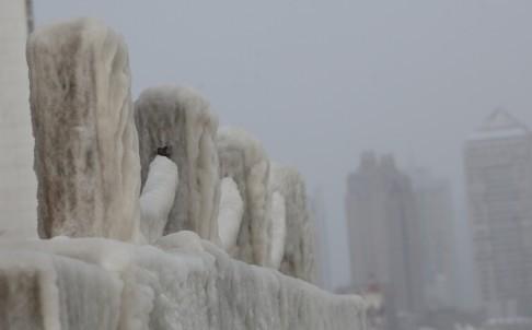 Trung Quốc hứng chịu đợt rét kỷ lục, 90\% diện tích chìm sâu dưới 0 độ 3