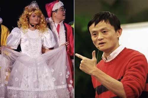 Xem tỷ phú giàu nhất TQ hát karaoke, giả gái ở tiệc năm mới 1