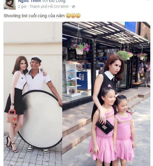 Facebook sao Việt: Ngọc Quyên khoe khoảnh khắc ngộ nghĩnh của con trai 5