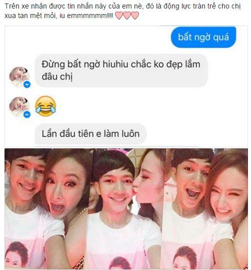 Facebook sao Việt: Ngọc Quyên khoe khoảnh khắc ngộ nghĩnh của con trai 8