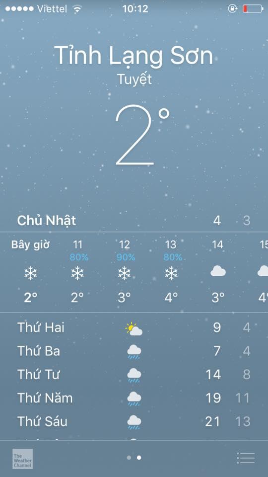 Tuyết rơi trắng nhiều nơi ở Lạng Sơn 5