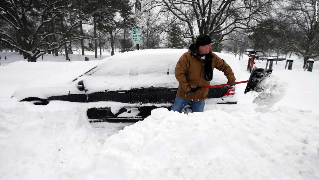 Bão tuyết tấn công nước Mỹ: 19 người thiệt mạng 1