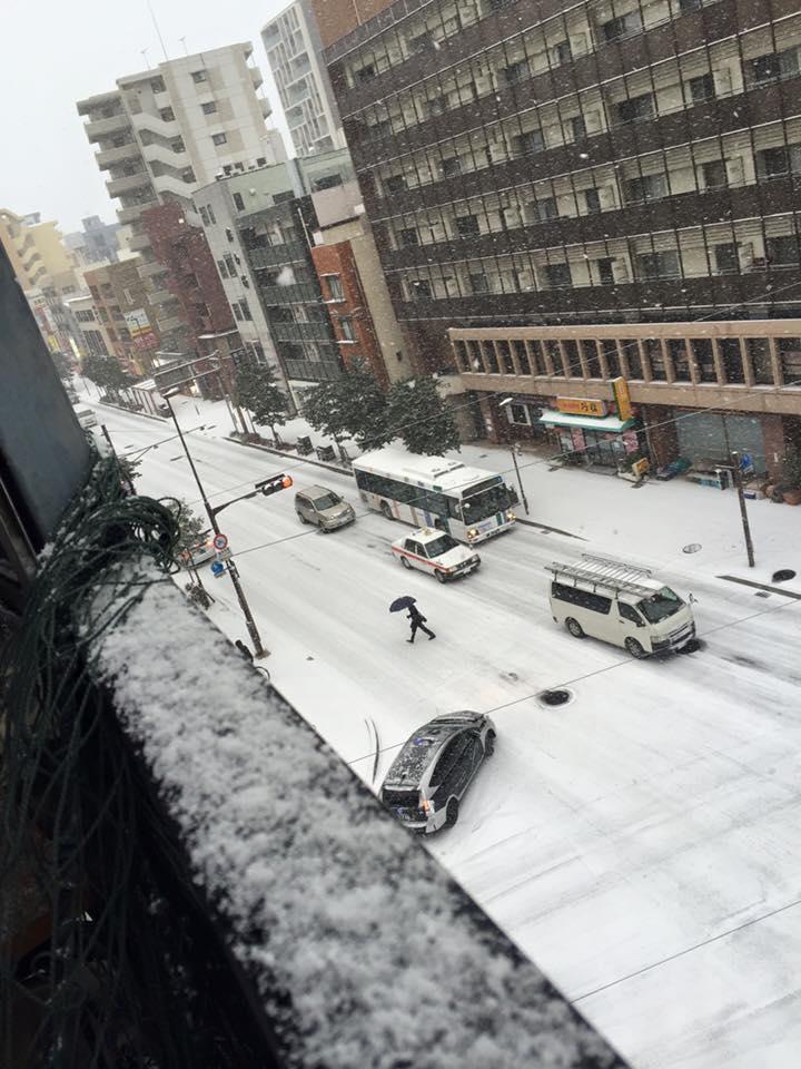 Ngắm cảnh tuyết rơi tại Nhật Bản 1