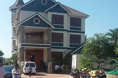Vợ chồng chủ cơ sở cà phê lớn nhất Tiền Giang tử vong trong căn biệt thự 1