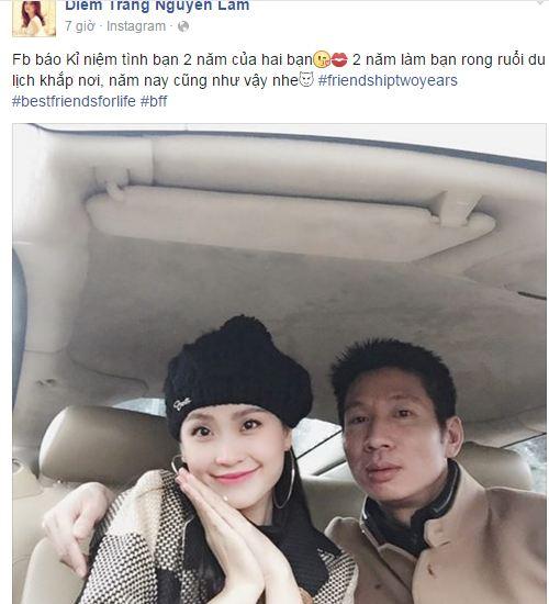 Facebook sao Việt: Hà Tăng tình cảm ôm chặt ông xã 4