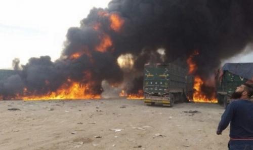 Nga tiêu diệt đoàn xe chở vũ khí từ Thổ Nhĩ Kỳ vào Syria  1
