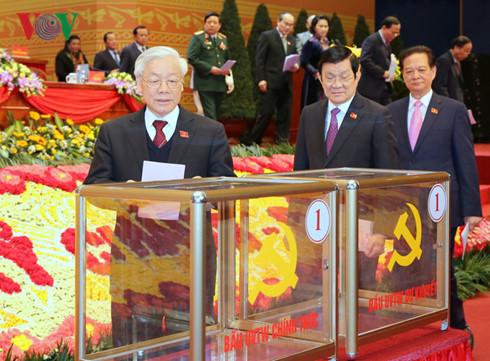 4 người được đề cử chức danh lãnh đạo chủ chốt trúng cử khóa XII 1