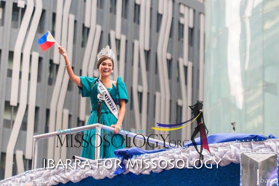 Người dân Philippines diễu hành chào đón Hoa hậu Hoàn vũ 2015 10