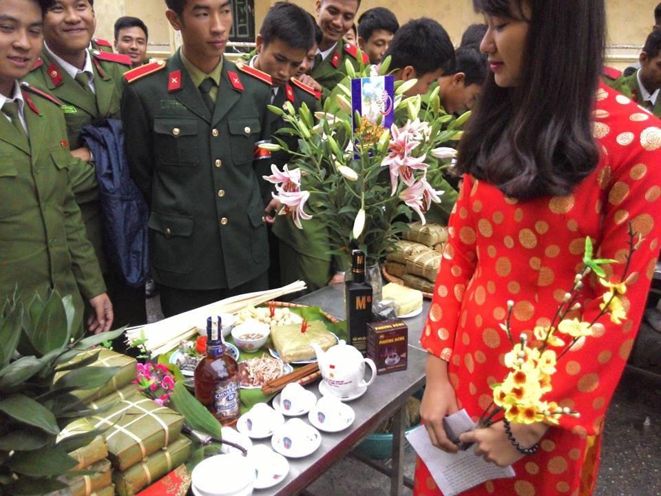 Chùm ảnh: Học viên Cảnh sát Nhân dân đón Tết tại Học viện 9