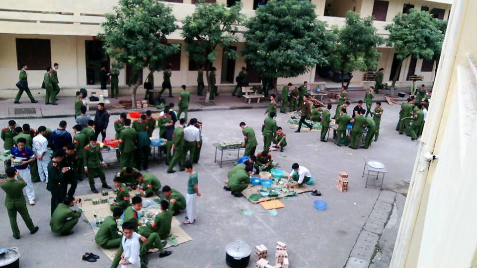 Chùm ảnh: Học viên Cảnh sát Nhân dân đón Tết tại Học viện 1