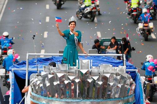Tân Hoa hậu Hoàn vũ diện kiến tổng thống Philippines sau tin đồn hẹn hò 3