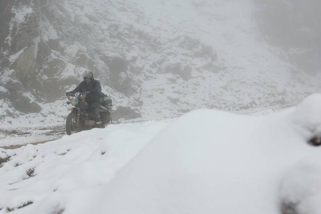 Tuyết phủ dày 20cm ở Nghệ An trắng xóa như Châu Âu 7