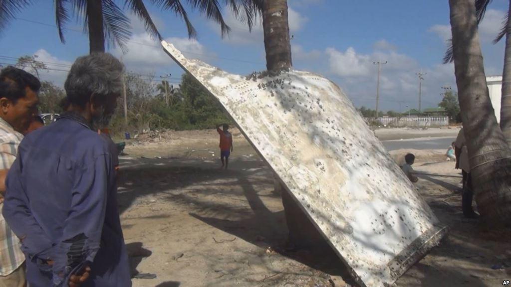 Vật thể nghi của MH370 ở Thái Lan có thể là mảnh tên lửa 1