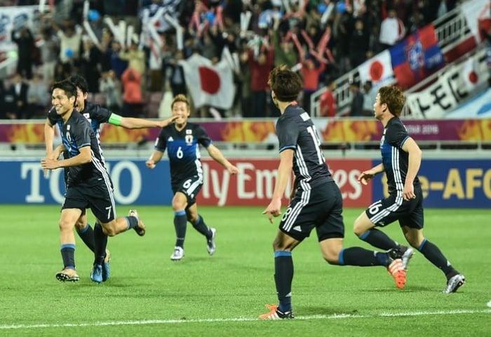 U23 Nhật Bản gặp U23 Hàn Quốc ở chung kết giải châu Á 1