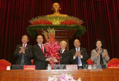 Tổng Bí thư Nguyễn Phú Trọng tái đắc cử 1