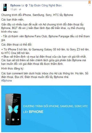 Bạn có dám đổi iPhone lấy BPhone không? 1