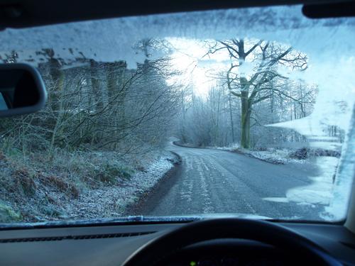 10 điều cần nhớ khi lái xe trời mưa tuyết 2