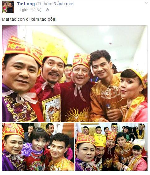 Facebook sao Việt: Ngọc Quyên khoe hình ảnh con trai mặc áo lính 12
