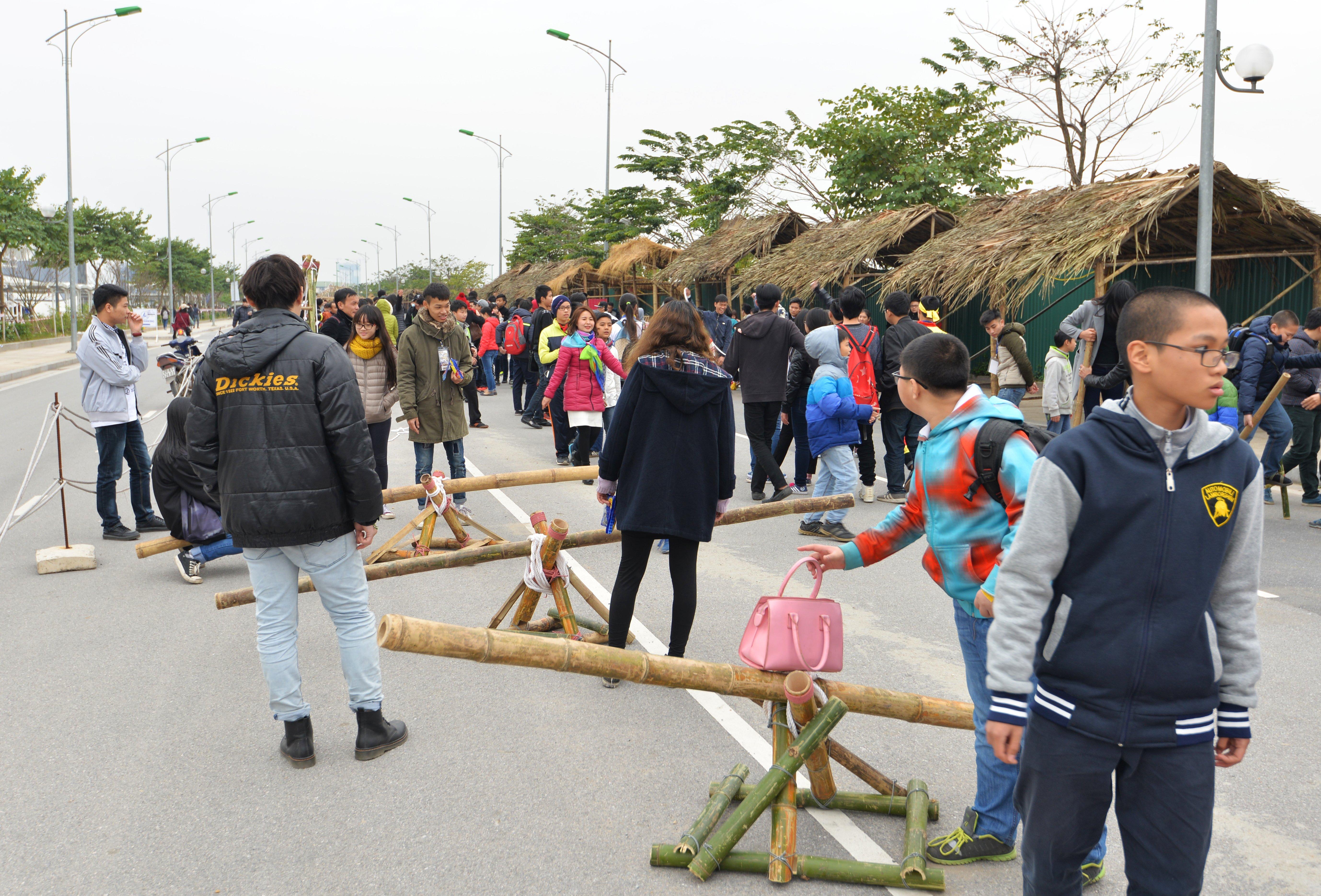 Phiên chợ Tết cổ truyền giữa lòng Thủ đô Hà Nội 4