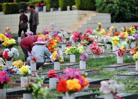 Phong tục ngày Tết: Tảo mộ ngày xuân 1