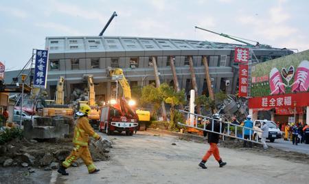 Động đất Đài Loan: Ít nhất 11 người chết 4