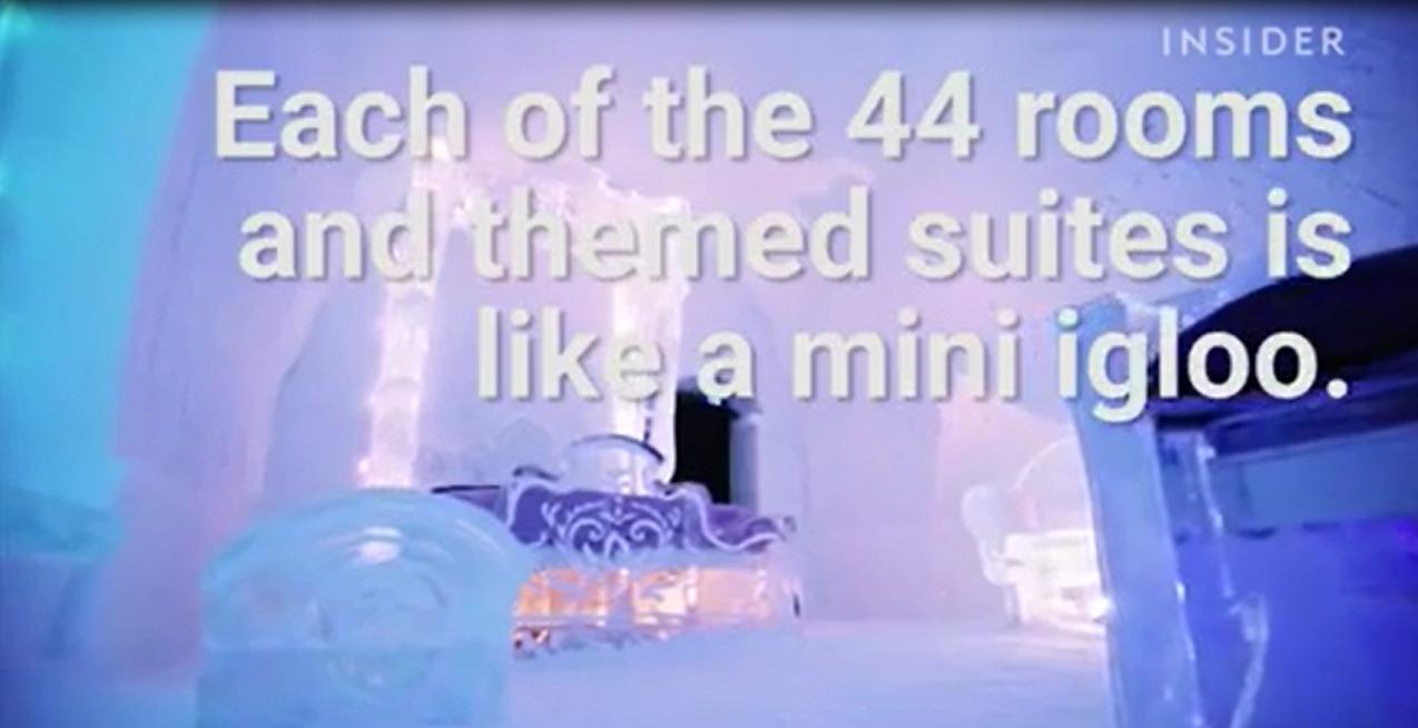 Hơn 4 triệu đồng một đêm nghỉ dưỡng tại khách sạn băng Canada 1