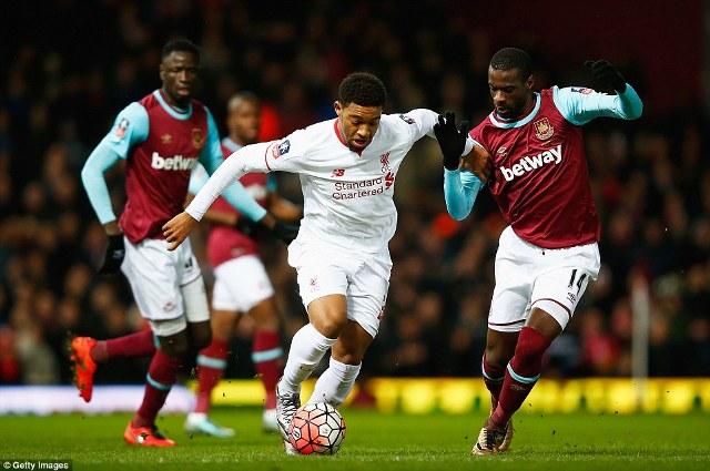 Thua phút 120, Liverpool chia tay Cúp FA sớm 1
