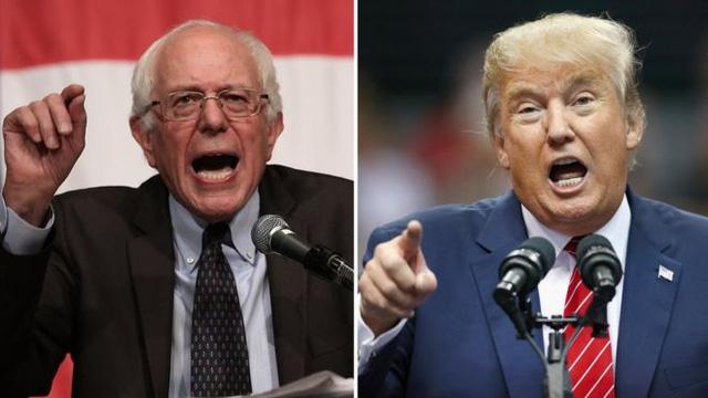 Tranh cử TT Mỹ: Donald Trump và Bernie Sanders thắng áp đảo ở New Hampshire 1