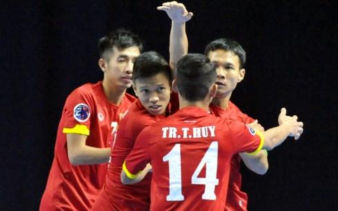 ĐT ftsal Việt Nam đánh bại tuyển Đài Loan ở giải châu Á 1