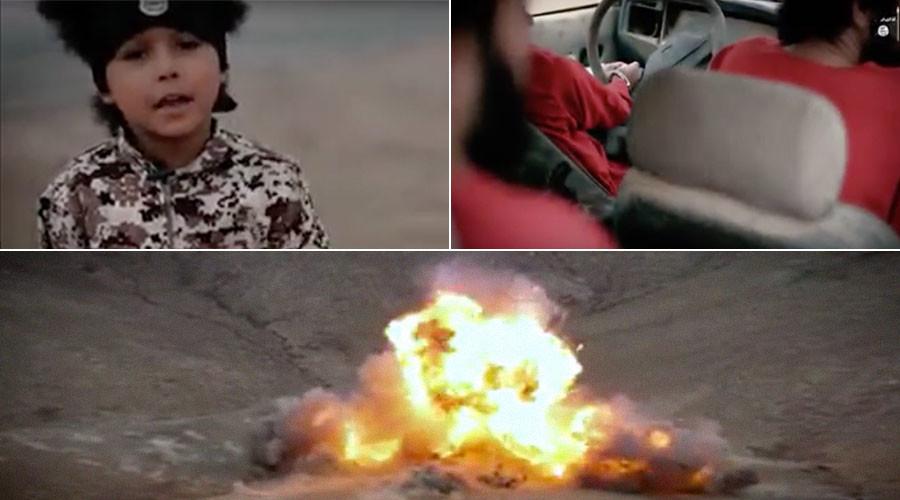 """""""Chiến binh thánh chiến nhí"""" của IS cho nổ tung 3 """"gián điệp"""" Anh 1"""