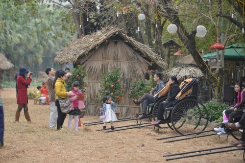Hàng vạn người háo hức tham gia lễ hội hoa Xuân 10