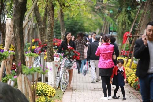 Hàng vạn người háo hức tham gia lễ hội hoa Xuân 11