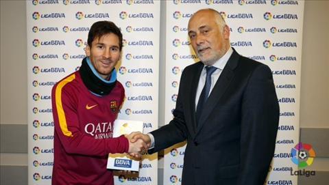 Messi lần đầu tiên được La Liga vinh danh 1