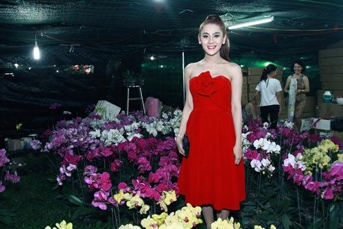 """""""Công chúa"""" Lâm Chi Khanh yêu kiều đón xuân 1"""