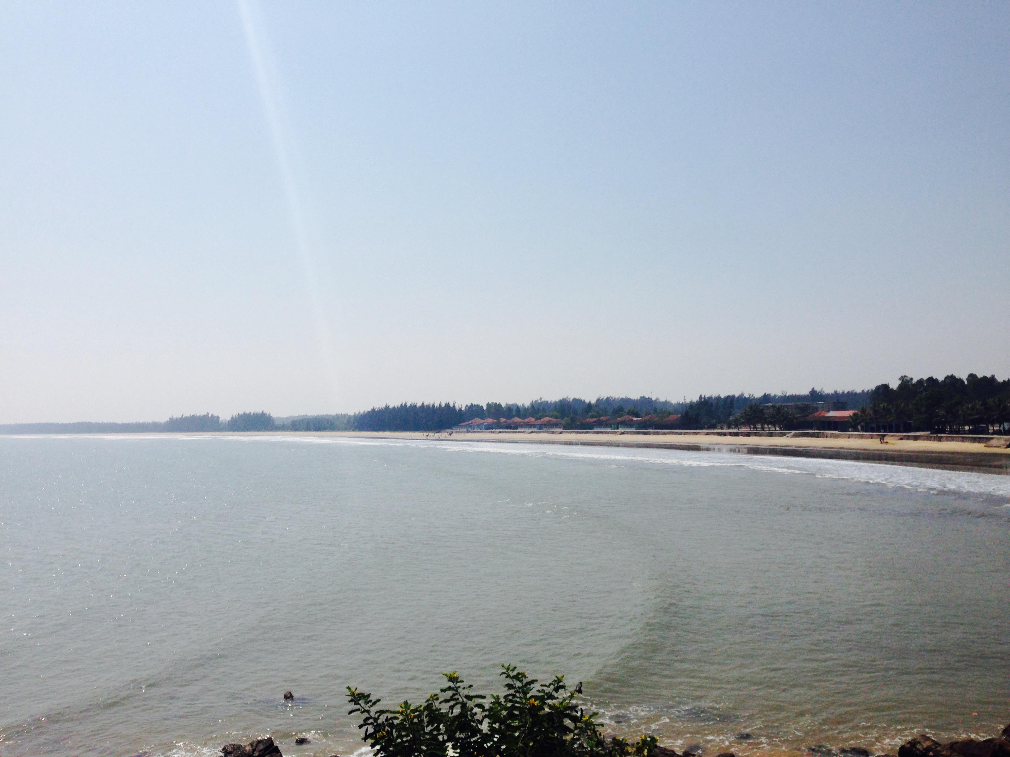 Hình ảnh Biển Quỳnh hoang sơ và đẹp quyến rũ trong nắng xuân số 3