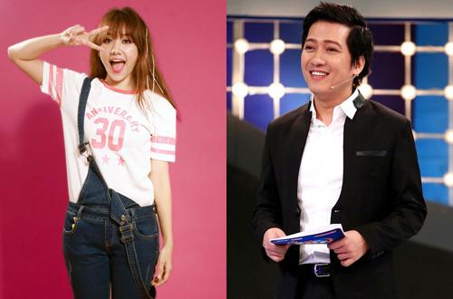 Valentine's Day: 'Bỏ rơi' Trấn Thành, Hari Won 'cặp kè' Trường Giang 2