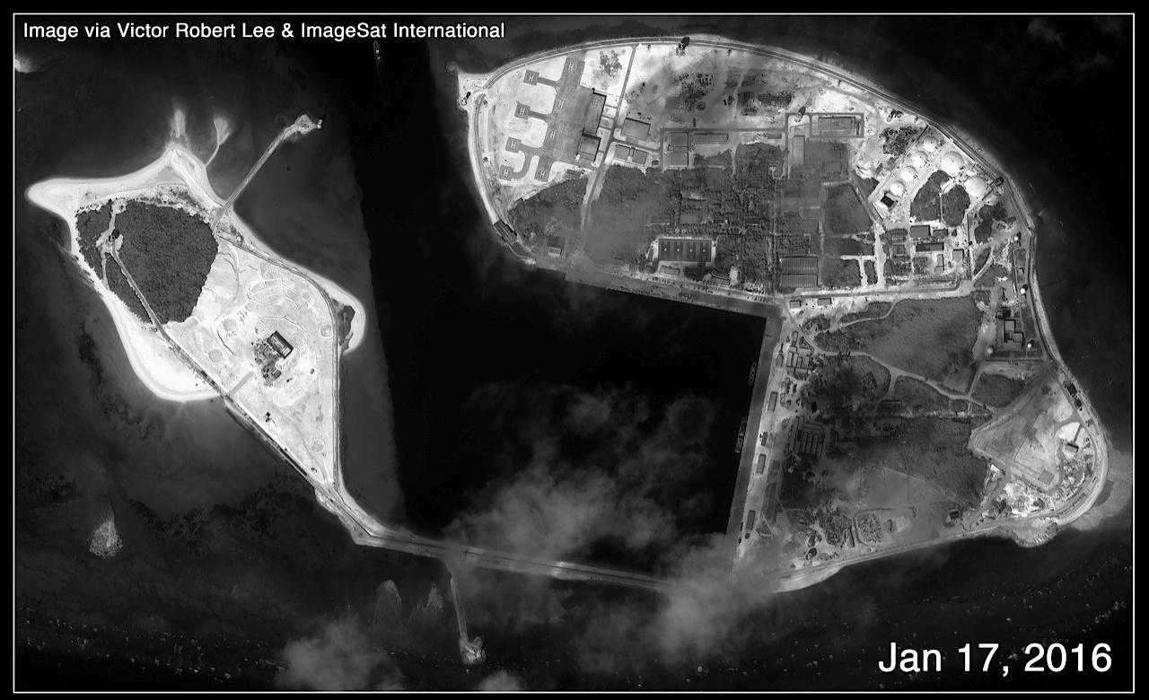 Trung Quốc ngang nhiên xây căn cứ trực thăng trái phép ở Hoàng Sa 1