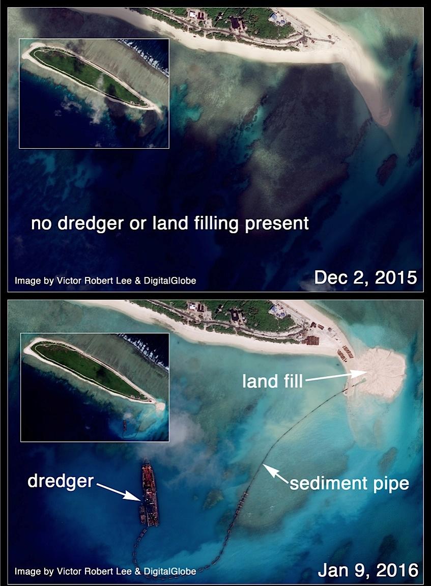Trung Quốc ngang nhiên xây căn cứ trực thăng trái phép ở Hoàng Sa 3