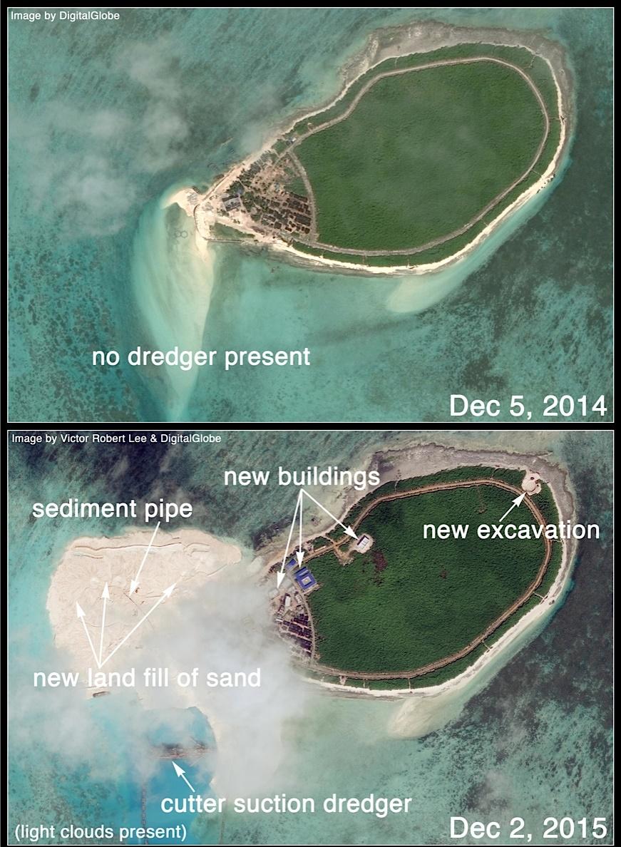 Trung Quốc ngang nhiên xây căn cứ trực thăng trái phép ở Hoàng Sa 4