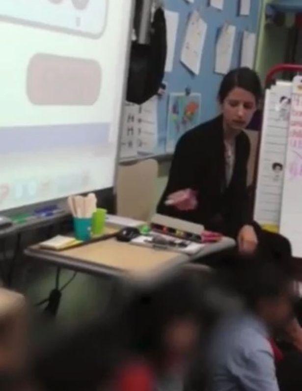 Cô giáo la hét, xé vở học sinh bị camera ghi lại 1