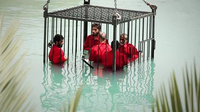IS dìm chết 8 người Iraq bị cáo buộc làm gián điệp 1