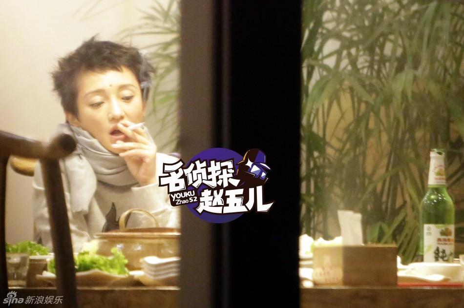 Ngỡ ngàng với hình ảnh Châu Tấn thản nhiên hút thuốc, uống rượu 3