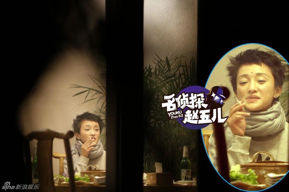 Ngỡ ngàng với hình ảnh Châu Tấn thản nhiên hút thuốc, uống rượu 4