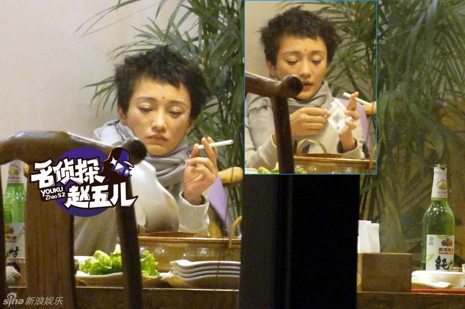 Ngỡ ngàng với hình ảnh Châu Tấn thản nhiên hút thuốc, uống rượu 6