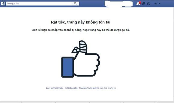 Hồ Ngọc Hà khóa Facebook sau khi vợ đại gia kim cương