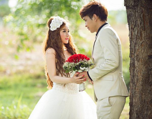 Lộ ảnh cưới chính thức của Hồ Quang Hiếu và hot girl Ivy 5