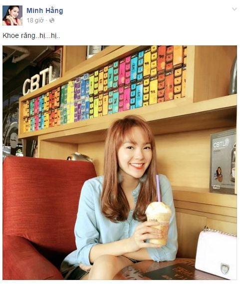 Facebook sao Việt: Phạm Hương rạng rỡ trên đất Thái 5